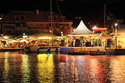 Roupen  Baker - Marina at night