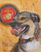 Terry Albert - Marine dog Dragon