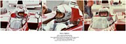 Indy Car Posters - Mario Andretti Poster by Don Struke
