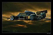 2012 Champions Posters - Mario Andretti John Player Special Lotus 79  Poster by Blake Richards