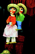 Toy Shop Photo Framed Prints - Marioneta Framed Print by Molly McPherson