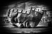 Steve Purnell - Maritime Memorial Cardiff Bay Mono