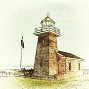 Point Park Digital Art Posters - Mark Abbott Lighthouse Santa Cruz California Poster by Paul Topp