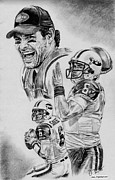 Pro Football Prints - Mark Sanchez Print by Jonathan Tooley