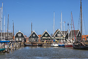 Harbour Framed Prints - Marken Framed Print by Joana Kruse