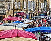 Greg Matchick - Market Day in Sarlat