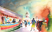Lanzarote Paintings - Market in Teguise in Lanzarote 06 by Miki De Goodaboom