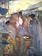 Mohan Watercolours - Market