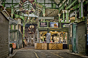 Green Grocer Prints - Market Streets Print by Heather Applegate