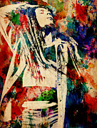 Watercolor Digital Art - Marley Explosion by Steve Will