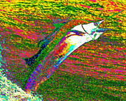 Fishermen Digital Art - Marlin v2 by Wingsdomain Art and Photography