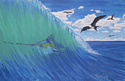 Gamefish Originals - Marlin Wave by Troy Craig