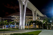 Marlins Prints - Marlins Park Stadium Miami 12 Print by Rene Triay Photography