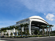Marlins Park Stadium Miami 16 Print by Rene Triay Photography