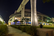 Marlins Park Stadium Miami 3 Print by Rene Triay Photography