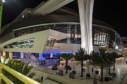 Marlins Prints - Marlins Park Stadium Miami 7 Print by Rene Triay Photography