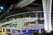 Marlins Prints - Marlins Park Stadium Miami 8 Print by Rene Triay Photography