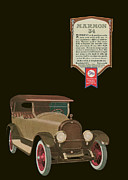 Automotive Illustration Drawings - Marmon 34  - Vintage Poster by World Art Prints And Designs
