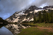 Landscape Photography Photos - Maroon Bells Storm by Alan Vance Ley