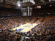 Basketball Sports Prints - Marquette Golden Eagles BMO Harris Bradley Center Print by Replay Photos