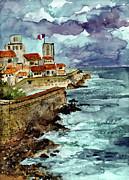 Ginette Fine Art LLC Ginette Callaway - Marseille France Harbor Watercolor