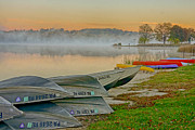 Marsh Photos - Marsh Creek Lake 4 by Jack Paolini