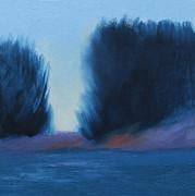 Marsh Opening 2 Print by Sheila Psaledas