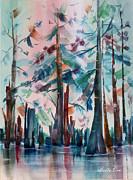 Marsh Sentinels Print by Bette Orr