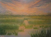 Holly Martinson - Marsh Sunset