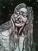 Woodcut Reliefs - Marsha Gomez by Jane Madrigal