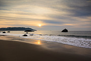 Us Marshall Prints - Marshall Beach Sunset San Francisco Print by Mathew Lodge