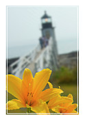Marshall Point Lighthouse  Print by Mike McGlothlen