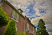 Western Carolina University Photos - Marshbanks Hall at Mars Hill College by Ryan Phillips
