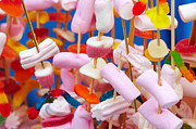 Confectionery Prints - Marshmallow Print by Carlos Caetano