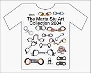 Shirt Digital Art Originals - Marta Stu Art T Shirt by Bruce Iorio