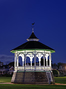 Martha Prints - Marthas Vineyard Gazebo Print by John Greim