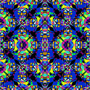 Gra Digital Art - Marti Gras Carnival Jester Abstract 20130129v5 by Wingsdomain Art and Photography