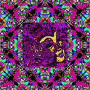 Humour Prints - Marti Gras Carnival Mask In Jester Window 20130129v3 Print by Wingsdomain Art and Photography