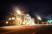 Lisa Sorrell Prints - Martin County Courthouse At Night 2 Print by Lisa Sorrell