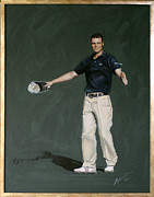 Famous Golfers Framed Prints - Martin Kaymer Framed Print by Mark Robinson