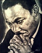 Martin  Luther Paintings - Martin Luther King by Annalise Kucan
