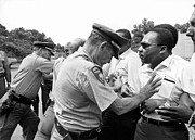 Famous Americans Photos - Martin Luther King by Underwood Archives