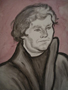 Jeremiah Cook - Martin Luther Watercolor