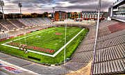 Football Art - Martin Stadium at Washington State by David Patterson