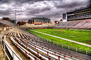 Cougars Prints - Martin Stadium in Pullman Washington Print by David Patterson