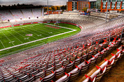 Bleachers Photos - Martin Stadium on the WSU Campus by David Patterson