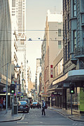 City Streets Photos - Marvellous Melbourne 2 by Linda Lees