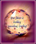 Marvelous Darling Print by Bobbee Rickard