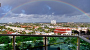 Marvelous Rainbow Print by Vic  Mastis