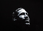 Motown Painting Originals - Marvin Gaye by Ray Johnson